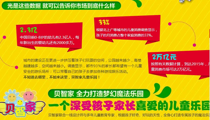 贝智家儿童游乐设备加盟费多少钱,贝智家儿童乐园加盟连锁_2