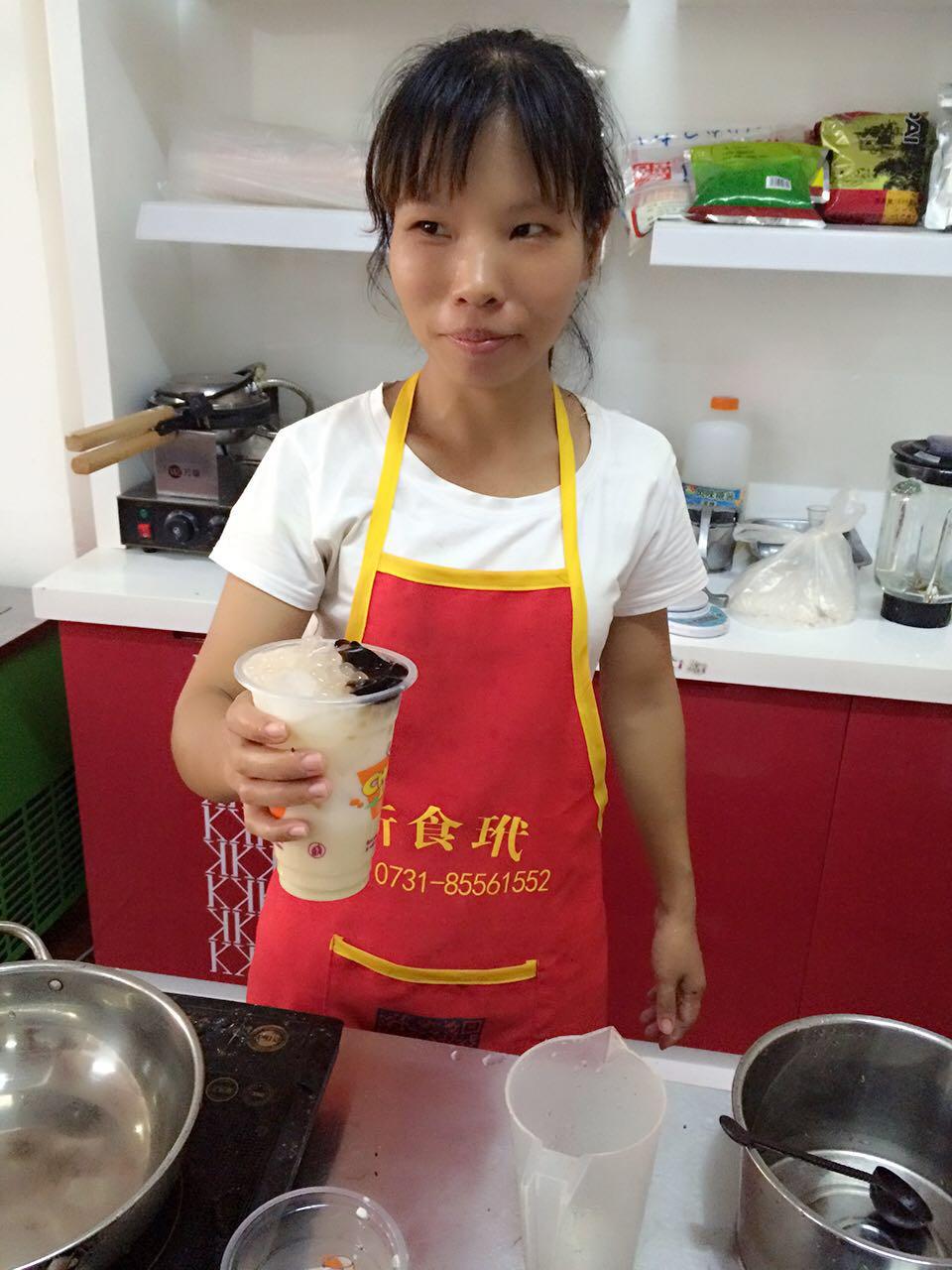 奶茶技术配方冷饮做法培训