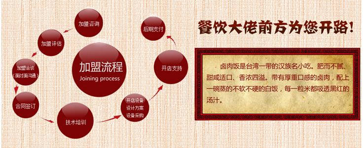 幺八公台湾卤肉饭招商加盟_1