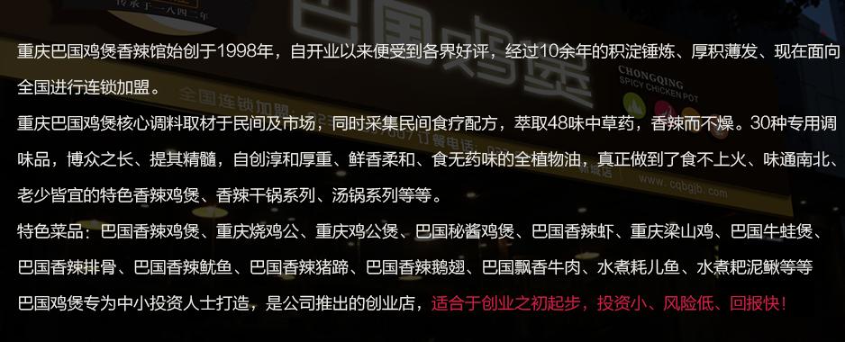 巴国鸡煲香辣馆投资分析_1