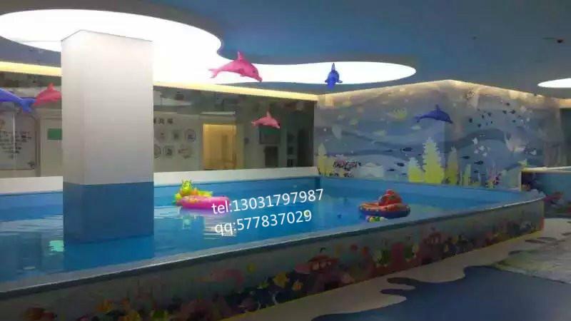 室内大型儿童水上乐园设备定做_2