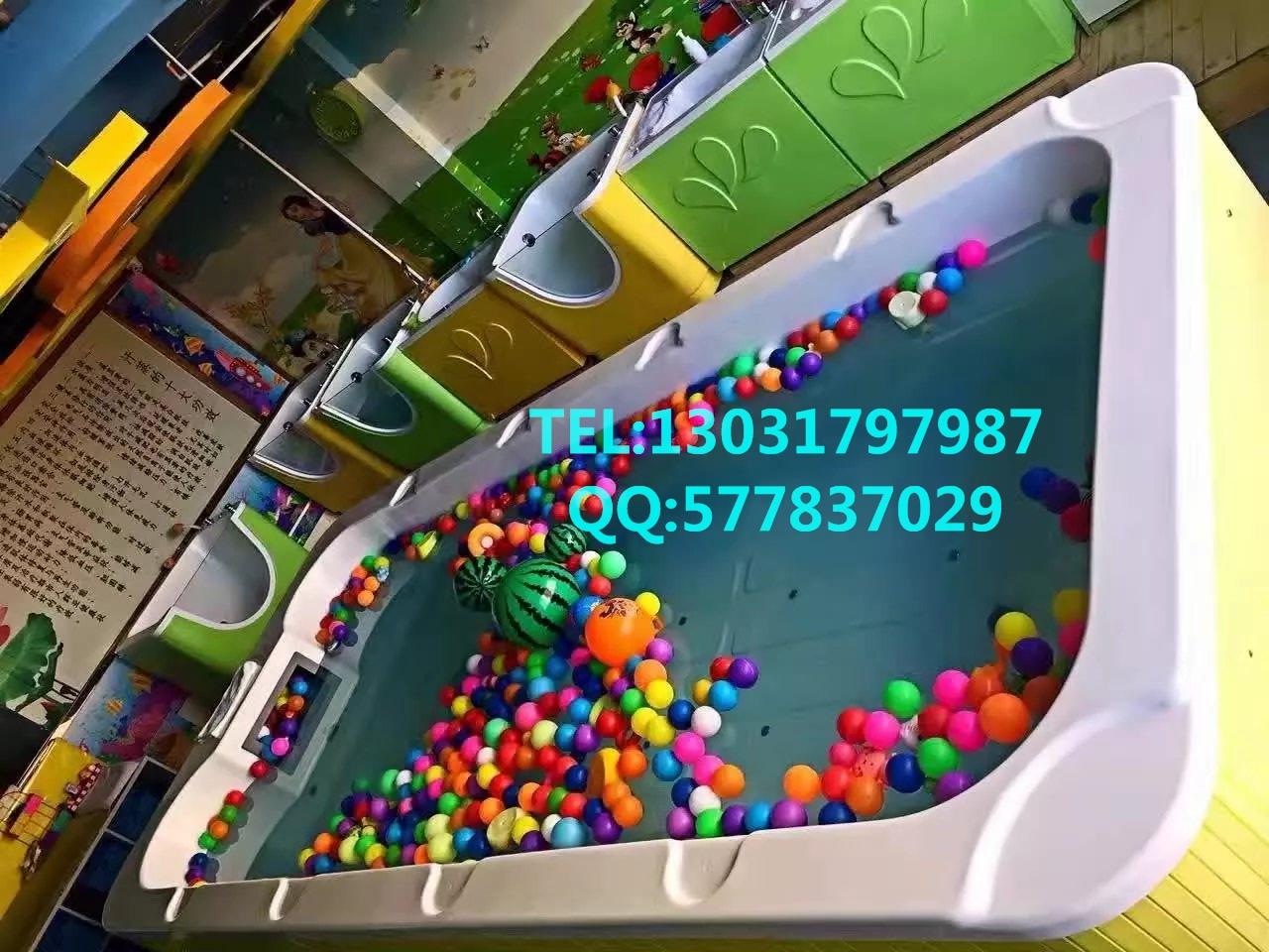 室内大型儿童水上乐园设备定做_3