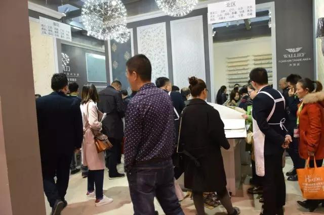 沃莱菲壁纸壁布魅力绽放2017北京墙纸布艺展(图)_1