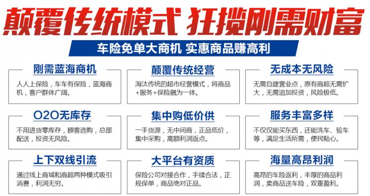 保联优品车险超市加盟,保联优品车险超市加盟条件_3