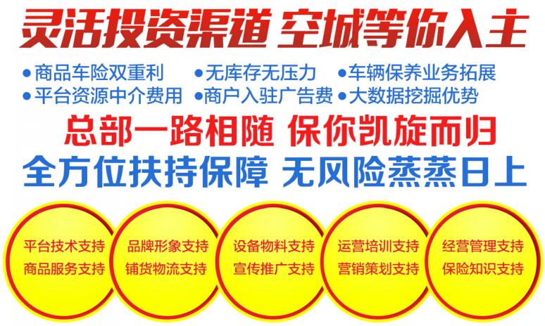 保联优品车险超市加盟,保联优品车险超市加盟条件_6