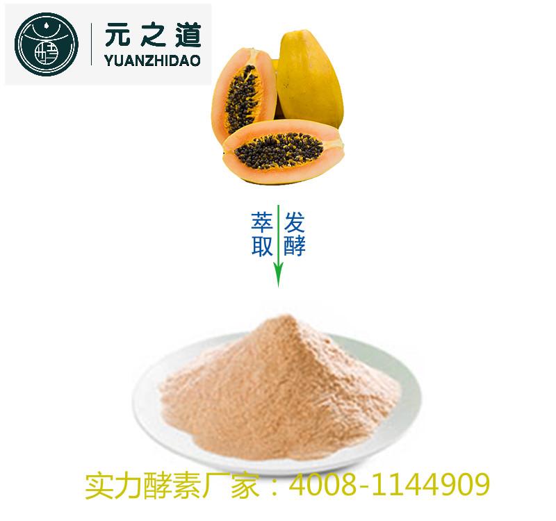 【木瓜酵素粉OEM】元之道木瓜酵素粉厂家