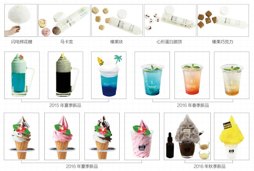韩国REMICONE乌云冰淇淋加盟连锁火爆招商_3