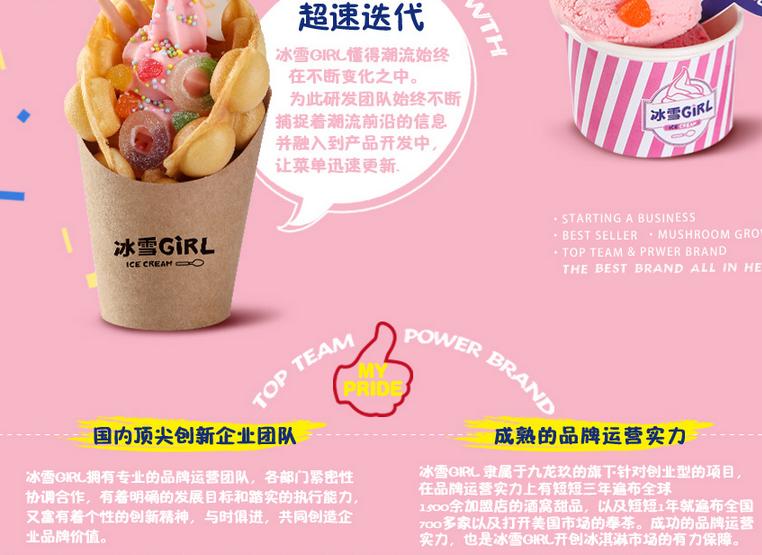 冰雪girl冰淇淋加盟优势_1