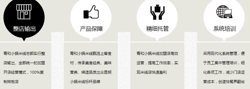加盟青和小锅米线投资多少钱_青和小锅米线加盟电话_5
