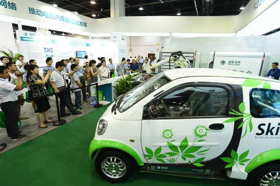2018上海新能源车展会_2