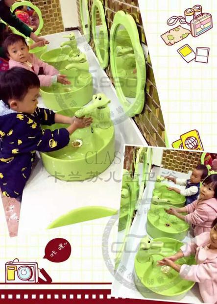 幼儿园洗手间如何装修?装修成什么风格?_1