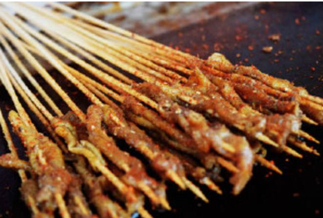 重庆烤鸭肠技术培训,哪里可以学习烤鸭肠技术,烤鸭肠加盟(图)_2