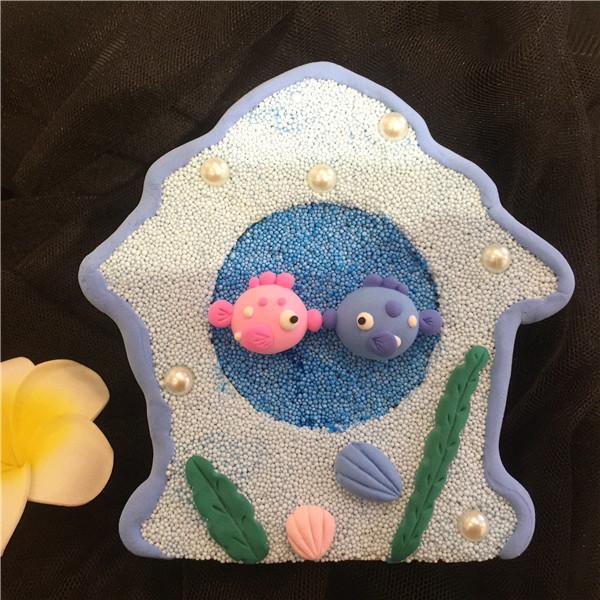 金鱼对对碰-儿童手工项目的分享