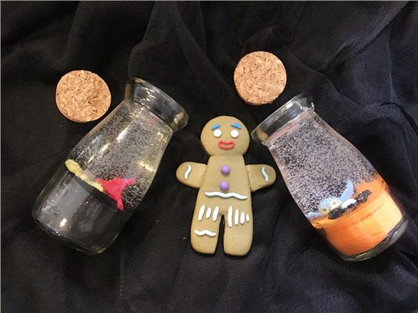 儿童手工项目-DIY创意生活馆果冻蜡烛作品