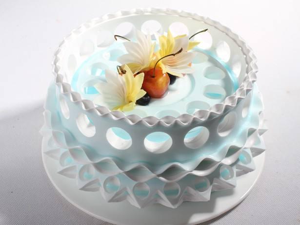 陶艺蛋糕-不一样的蛋糕组织现代陶艺手法与蛋糕完美结合_1
