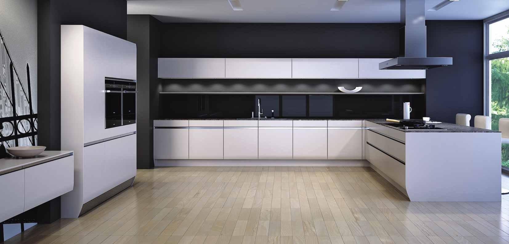 PA品爱橱柜产品推荐-橱柜-纯色烤漆系列