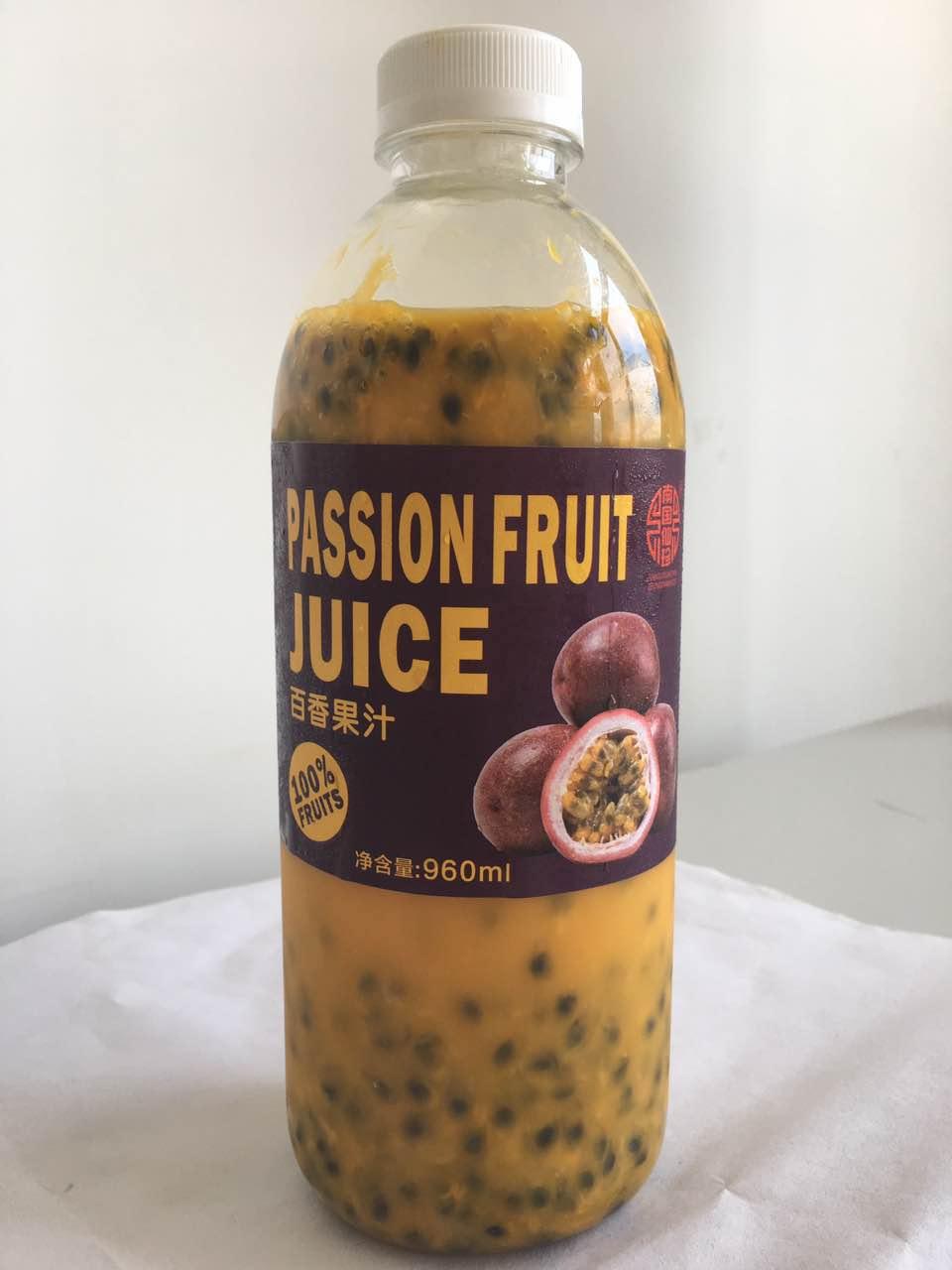 中天系列百香果汁960ml