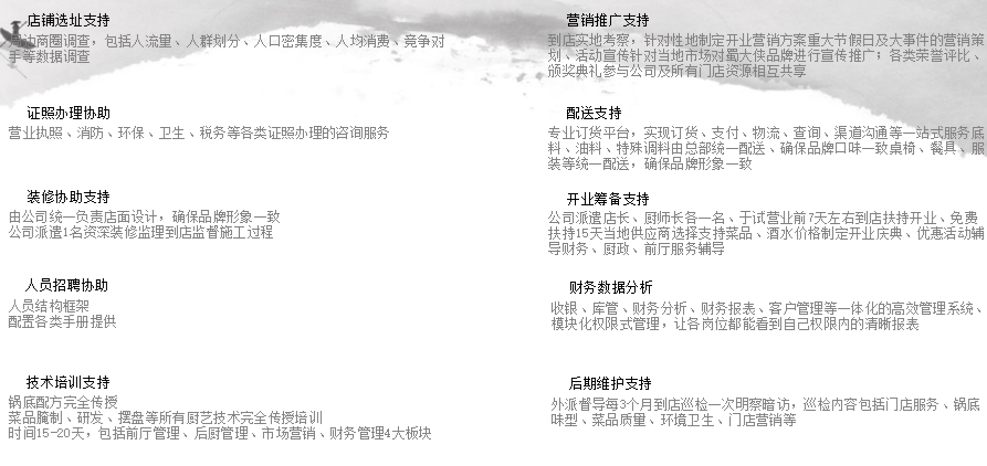 蜀大侠火锅加盟费用多少钱_成都蜀大侠火锅加盟条件_5