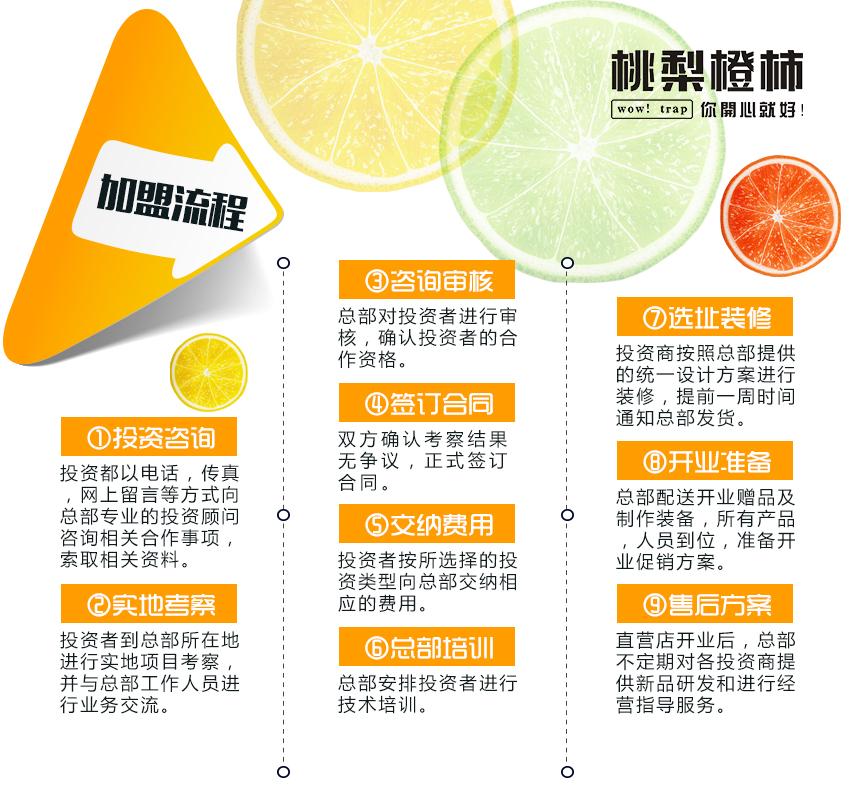 桃梨橙柿鲜榨果汁加盟_7