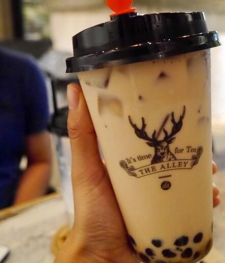 皇家九号奶茶