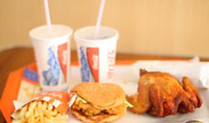 摩登漢堡-雙人套餐