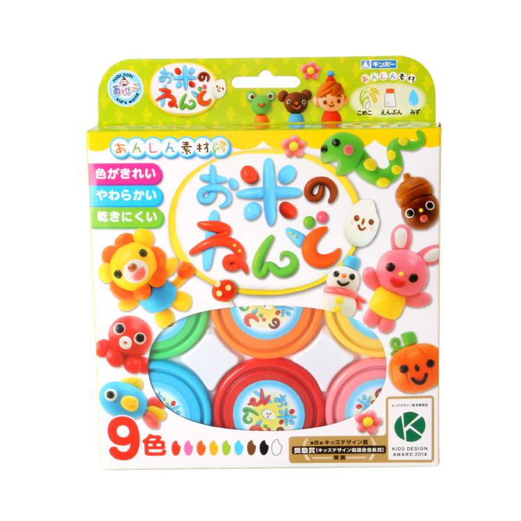 日本进口银鸟大米彩泥9色安全无毒DIY小猪佩奇儿童益智玩具全国包邮批发