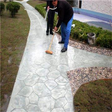 莱芜 混凝土印花地坪可以使用多久