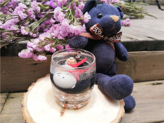 燭生活果凍蠟燭作品--俏皮的流氓兔
