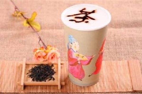 茶公子与茶女仕奶茶