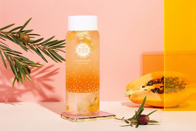 木瓜茉莉水晶茶