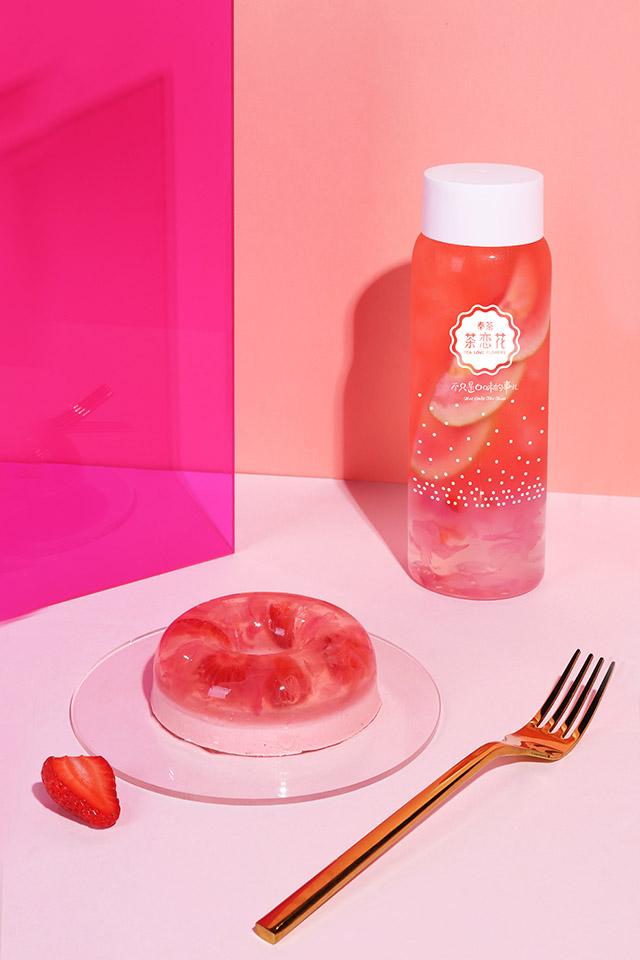芭乐玫瑰水晶茶