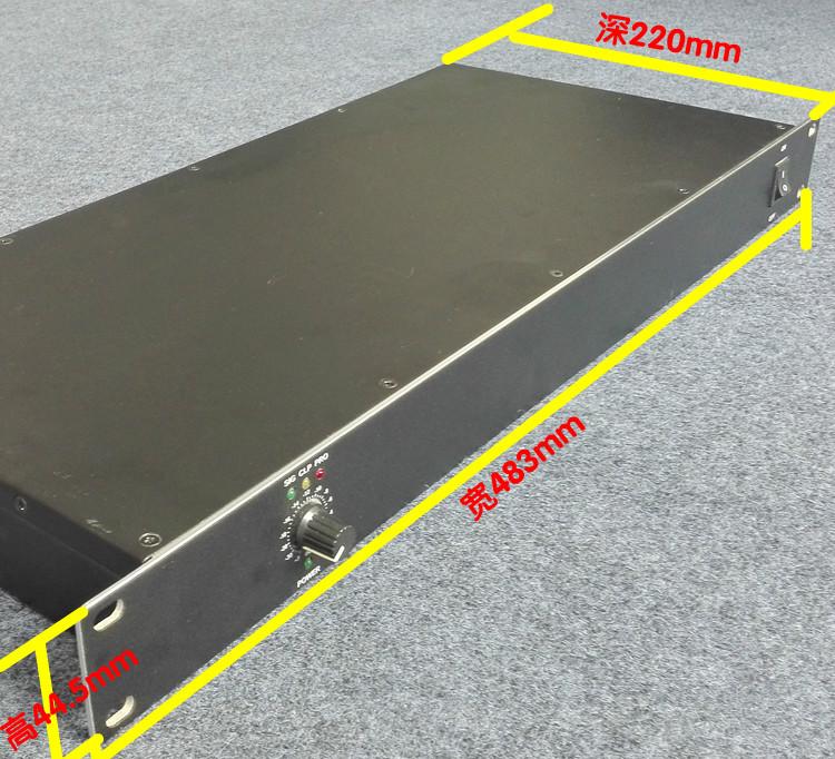 超薄1U公共广播定压D类数字功放机120W-1000W输出电压100V