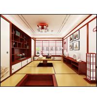 华艺和室榻榻米-色漆间