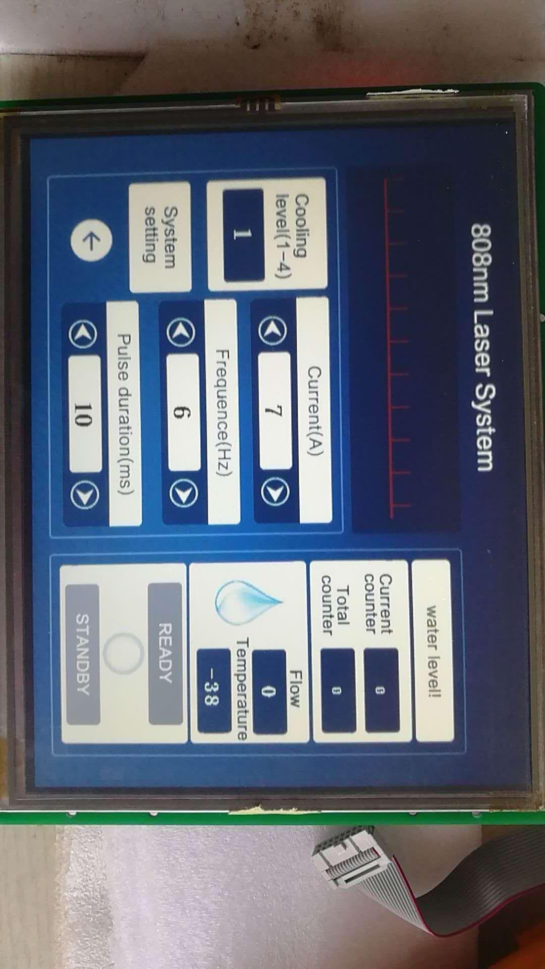 808nm脱毛宏通道手柄控制四件套300W500W10、4寸屏8寸屏_6
