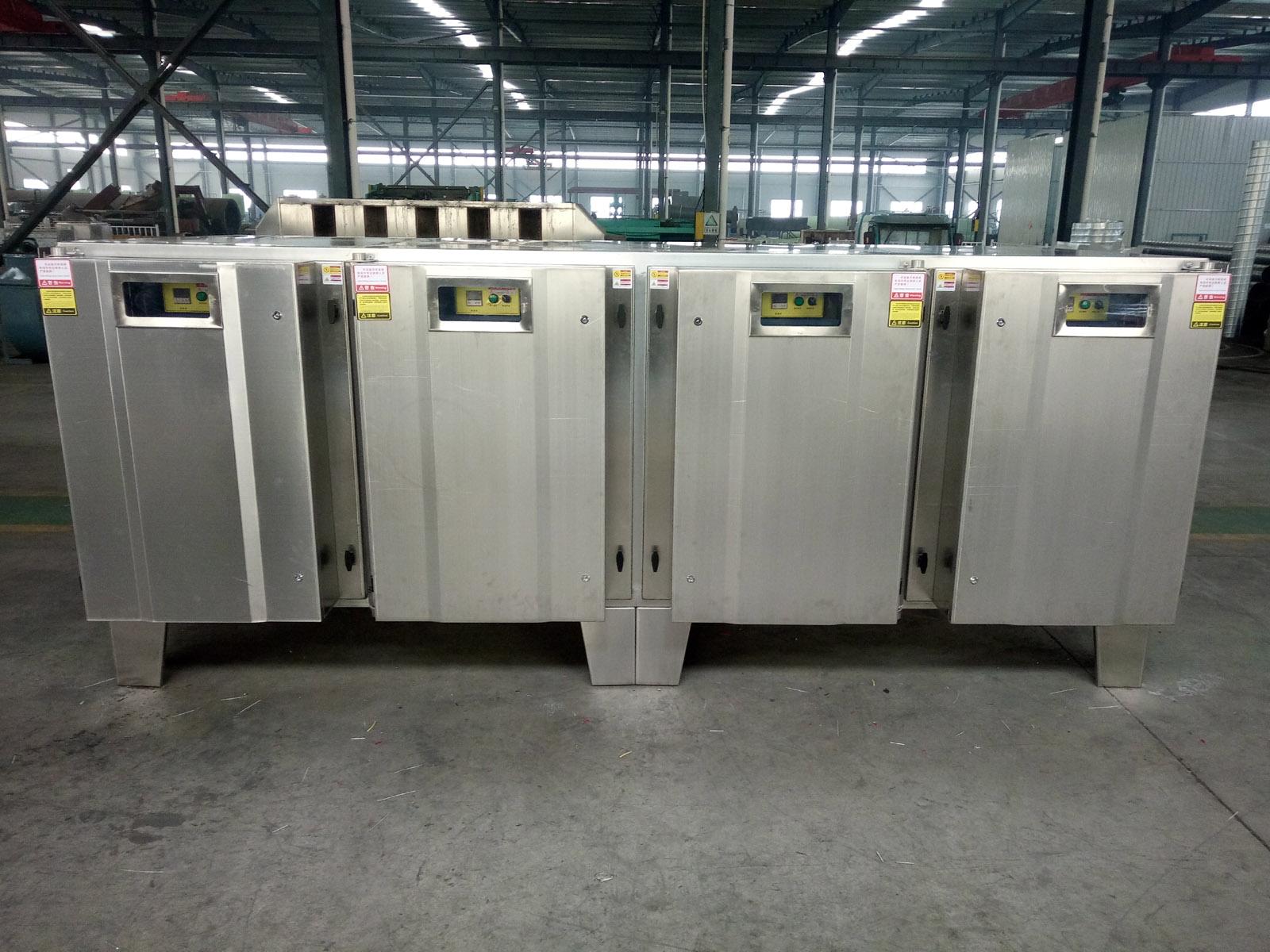 RTO废气蓄热燃烧设备