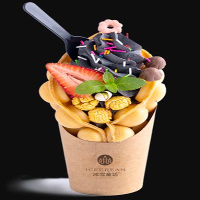 甜品市场广阔,冰雪童话冰淇淋加盟品牌带大家做赚钱生意(图)_1