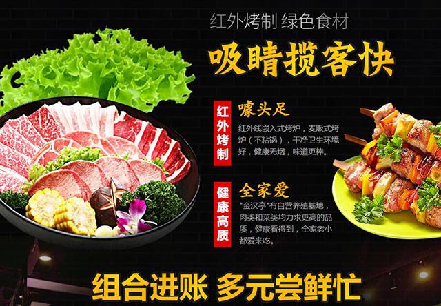 金漢亭自助烤肉