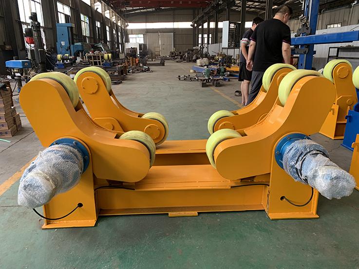 唐山5吨10吨20吨焊接滚轮架组对焊接滚轮架_2
