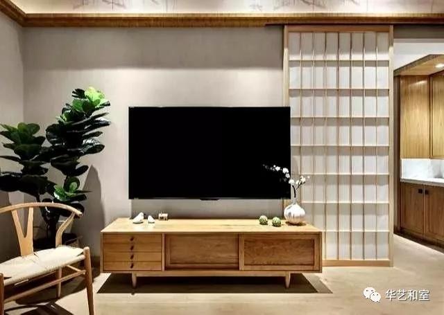 106㎡的现代日式3房,客厅漂亮,很特别!(图)_3