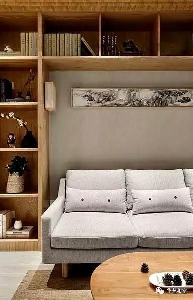 106㎡的现代日式3房,客厅漂亮,很特别!(图)_4