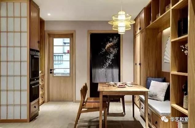 106㎡的现代日式3房,客厅漂亮,很特别!(图)_8
