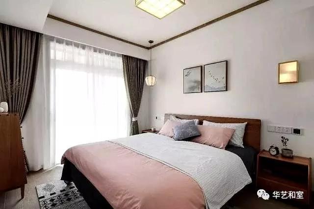 106㎡的现代日式3房,客厅漂亮,很特别!(图)_12