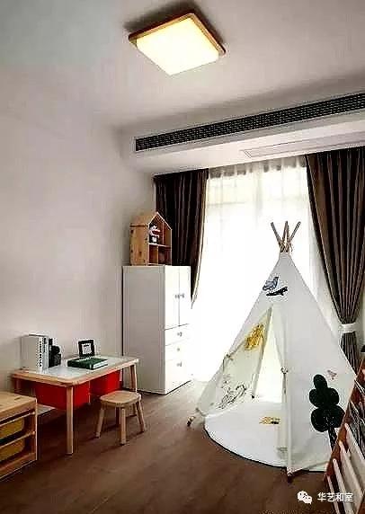 106㎡的现代日式3房,客厅漂亮,很特别!(图)_14