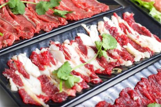 牛肉锅美食