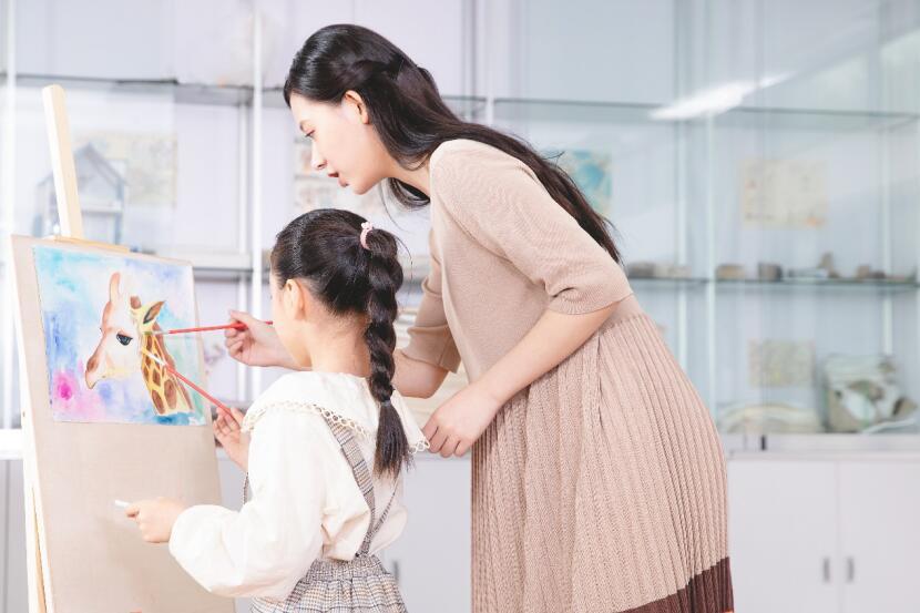 聚能少年国士堂儿童美术课:守护挖掘孩子想象力和创造力(图)_2