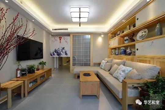 120㎡日式风格家装,这才是日式榻榻米和卫生间分离设计的精髓!(图)_1