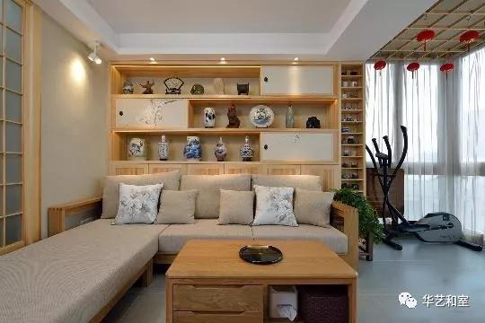 120㎡日式风格家装,这才是日式榻榻米和卫生间分离设计的精髓!(图)_2