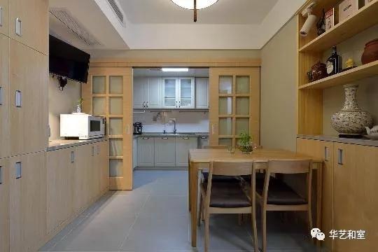 120㎡日式风格家装,这才是日式榻榻米和卫生间分离设计的精髓!(图)_10