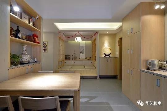 120㎡日式风格家装,这才是日式榻榻米和卫生间分离设计的精髓!(图)_9