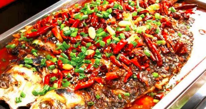 豆花味烤魚